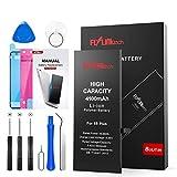 Batería para iPhone 6S Plus 4100mAH con 49% más de Capacidad Que la batería Origina, FLYLINKTECH Reemplazo de Alta Capacidad Batería para iPhone 6S Plus con Kits de Herramientas de reparación