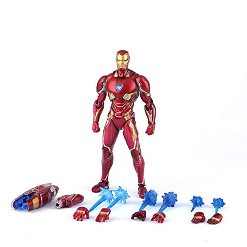 GFFTYX S.H.Figuarts Iron Man MK-50 Waffenset Avengers Infinity War Action Figure 6.3 Inches High Sammlungsmodell
