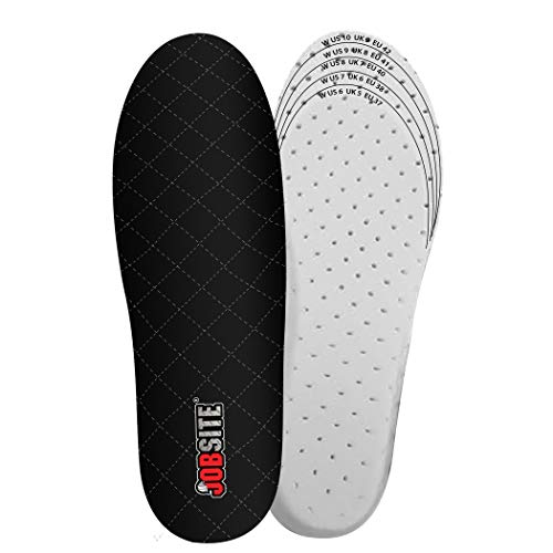 JobSite Warm Feet Thermal Insoles – 3M Thinsulate Insulation - Women 6-11 - 1 Pair