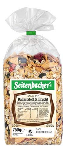 Seitenbacher Ballaststoff und Frucht Mischung, 3er Pack (3 x 750 g)