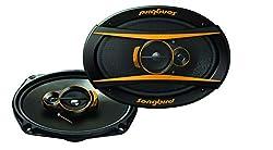 Songbird 6''x9'' Oval 500W Max 3 Way Super BASS Gold Series SB-B69-06 Coaxial Car Speaker,SABBY ELECTRONICS