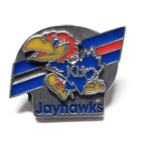 Rico Industries, Inc. Kansas Jayhawks Glossy Metal Hat Lapel Pin Team Logo University