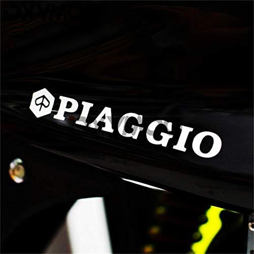 WYJW 2 STKS Auto Styling Sticker Motorhelm Sticker Sticker Decals voor Piaggio 200x30mm, Een vinylcar sticker
