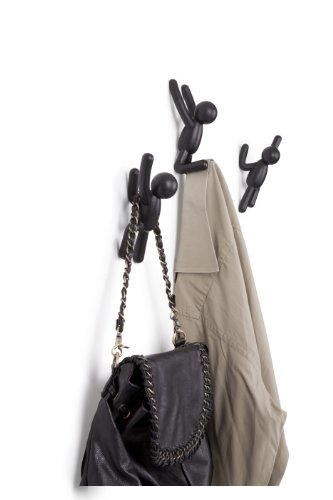 Umbra Buddy Wall Hooks – Decorative Wall Mounted Coat Hooks