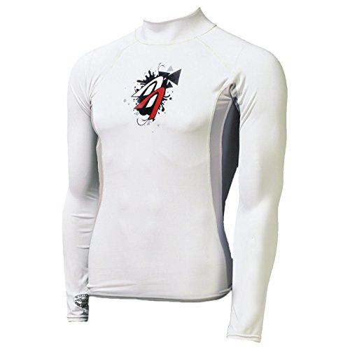 Ascan - T-shirt Lycra Manche Courte ou Longue Protection UV 60 OZ - Manches longues, S