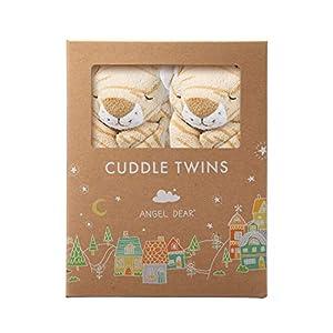 Angel Dear Cuddle Twin Set, Brown Tiger Stripe