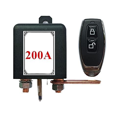 YANGPING HONGHUAER 12V Universal Coche Interruptor de batería Relé Integrado Control Remoto inalámbrico Desconexión Corte Aislador Interruptores Maestros