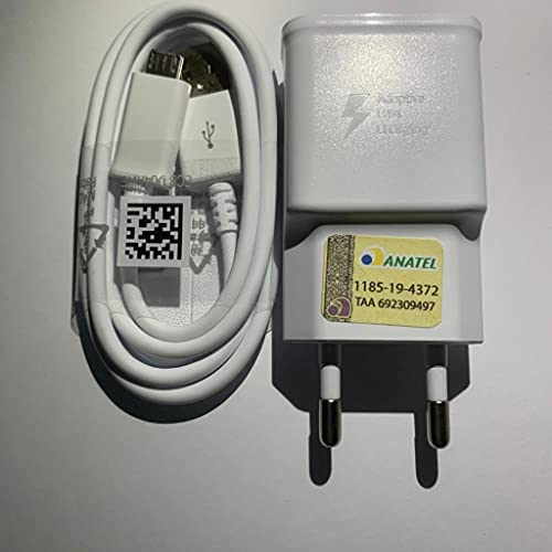 Samsung ETA-U90EWE Carica Batteria Alimentatore, Bianco