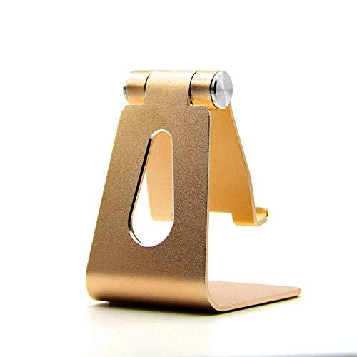 Soporte Ajustable para Teléfono De Escritorio Soporte para Tablet Pc 70 mm * 65 mm * 147 mm Dorado