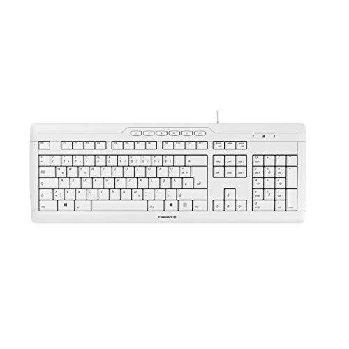 CHERRY STREAM 3.0 corded Keyboard USB grey (DE)
