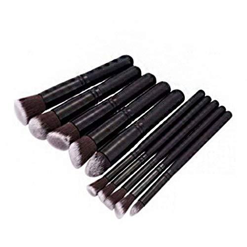 Cosmétique Cosmétique Pinceaux Kit, Professionnel Synthèse Blush Concealer Pinceaux Maquillage Maquillage Outil 10 Soutien-11