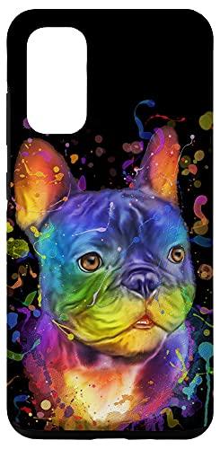 Galaxy S20 Splash Art French Bulldog Cute Gift Fur Mom Dog Dad Frenchie Case