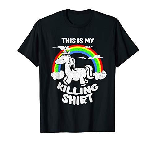 Mens This Is My Killing Unicorn T-Shirt