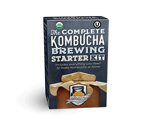 Complete Kombucha Brewing Starter Kit