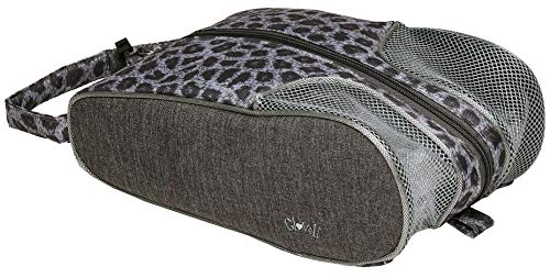 Buy Glove It Shoe Bag Snow Leopard – 12 in x 7 in, Golfing Shoe Bag w/Handle, Full-Size Zipper, Ve...