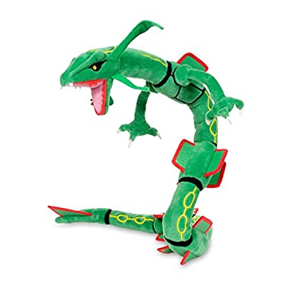 "Pokemon Center Rayquaza Poké Plush (Large Size) - 30"" from The Pokémon Company International, Inc."