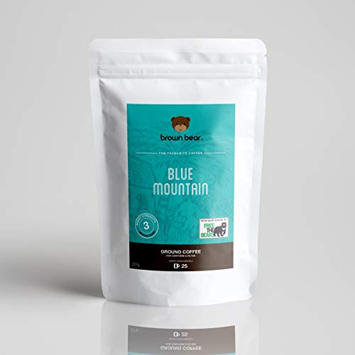 Brown Bear Blue Mountain, Café En Grano, Tostado Medio 227