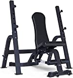 HOSTWEKLJT Adjustable Sit Up Bench, Adjustable Weight Bench, Multi-Function Household and Commercial Full Body Exercise Dumbbell Bench 400 Kg Weight Bench Press Training (Color : Style2)