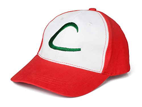 Pokemon ASH Ketchum Visor Cap Cosplay Hat Pocket Monster Anime Collect mp001984 by AnimeGo