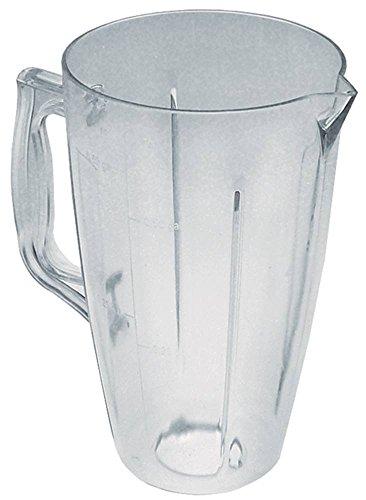 Mixbecher für Mixer Sirman ORIONE CE, Cookmax 721004 für Mixer Orione Kunststoff 2.000 ml