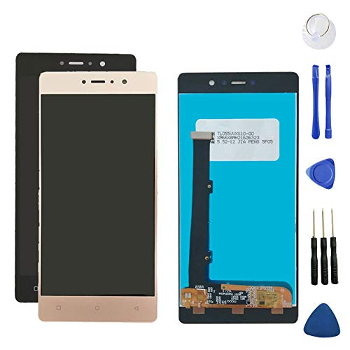 Phone Screen Replacement LCD Screen Fit for BLU VIVO 5R V0090UU LCD Display Touch Screen Digitizer Assembly Mobile Phone Phone Screen Replacement (Color : Black)