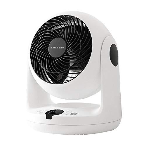 HZLQ Ventilador De Mesa Potente Ventilador Turbo/Ventilador De Circulación De Aire con Control Remoto Oscilación Vertical Horizontal Ajustable De 3 Etapas -Cool Y Refrescante White