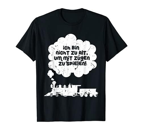 Modellbahn Lokführer Spur H0 Z N Modellbau Geschenk T-Shirt