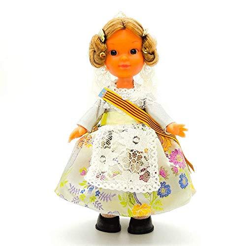 Folk Artesanía Muñeca Regional colección 25 cm Vestido típico Valenciana o Fallera...