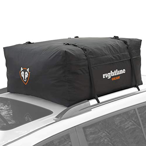 Rightline Gear Range 2 Car Top Carrier, 15 cu ft, Weatherproof +, Attaches With or Without Roof Rack