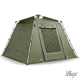 Lucx® Marder Tente de pêche Bivvy pour 1, 2 ou 3 Personnes