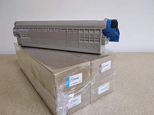 Tóner OKI ES8451 ES8461 ES 8451 8461 dn cdxn cdtn - Kit 4 colores - 9.000 páginas - Cod OKI 44059257 58 59 60 - EAN 5031713052661-78 - regenerado Made in Italy