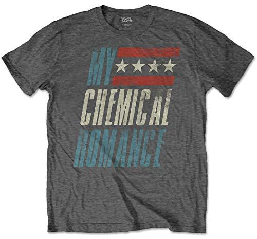 My Chemical Romance 'Raceway' (Grey) T-Shirt (x-Large)