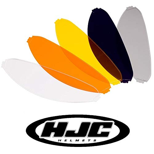 HJC HJ-07/HJ-09/HJ-17 IS-16/TR-1/CL-SP/CS-15/IS-Max 2/SY-Max 3/C90 Pinlock Inserto amarillo (HJCYPL)