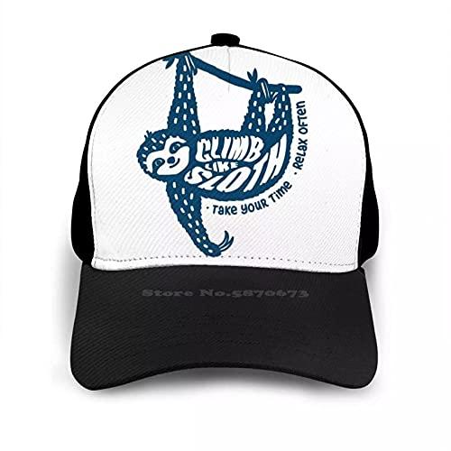 OEWFM Gorra de Beisbol Tómate tu Tiempo, relájate, Diez Hombres, Mujeres, Gorra béisbol, Sombrero, Escalada, Escalada, Escalada, Deportes Regalo