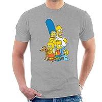 Herren T-Shirt Bitte nutzen sie unseren Passform Guide in der Bildergallerie Hochwertiges The Simpsons Produkt. Offizielle Ware.