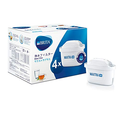 ブリタ 浄水 ポット カートリッジ マクストラ プラス 4個セット 【日本正規品】 塩素 除去 おいしい水