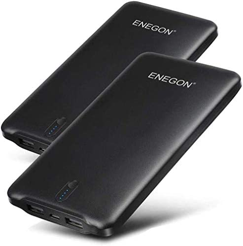 Portable Charger ENEGON 2 Pack Portable Power Bank 10000mAh The Phone Charger Battery with Dual product image