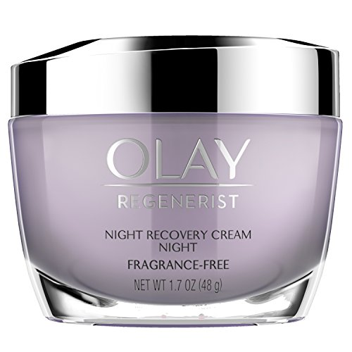 Night Cream by Olay Regenerist Night Recovery Anti-Aging Face Moisturizer 1.7 oz, 2 Month...
