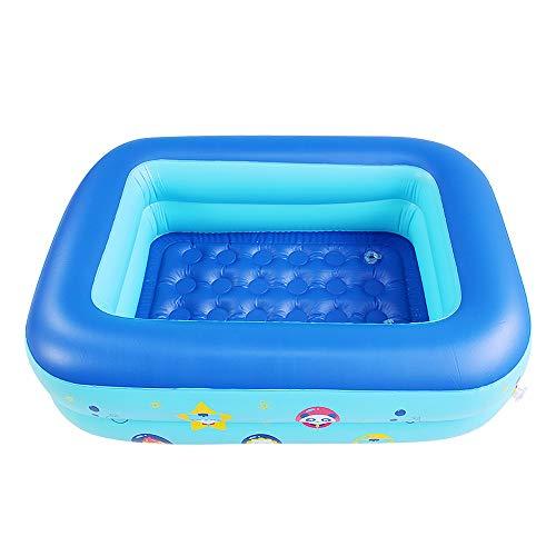 TOMYEER Juguetes inflables de la piscina de los niños piscinas inflables para los jardines piscinas para niños perfectos para niños adultos 120x90x33cm