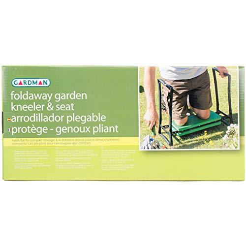 Gardman R616 Fold Away Garden Kneeler and Seat