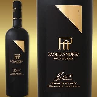 ボデガ イニエスタ フィンカ エル カリール パオロ アンドレア 2012 スペイン 赤ワイン 750ml フルボディ 辛口