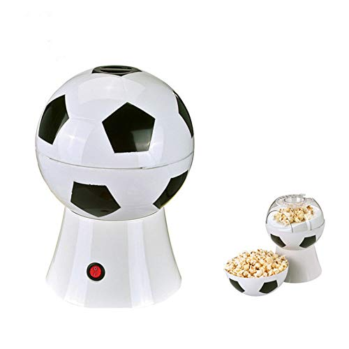 Fantastic Deal! Mini Popcorn Machine Maker, Hot Air Mini Football Style Popcorn Machine Oil Free, Pe...