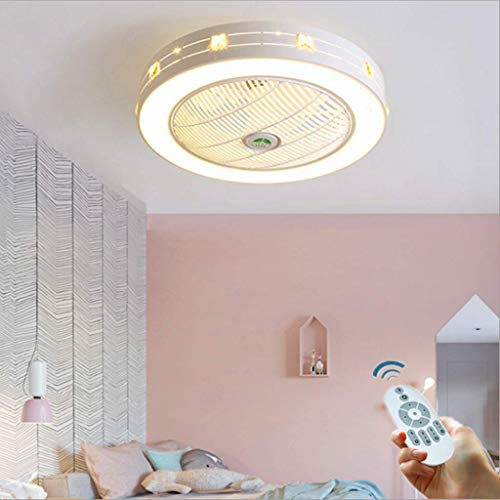 Ventilator Deckenventilator LED Deckenlampe Deckenventilator Mit Beleuchtung Kreativ Modern Kinderzimmer Schlafzimmer Lampe Büro Restaurant Wohnzimmer Deko Beleuchtung
