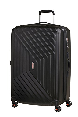 American Tourister Air Force 1 Spinner Suitcase, 76 cm, 111 L, Noir (Galaxy Black)