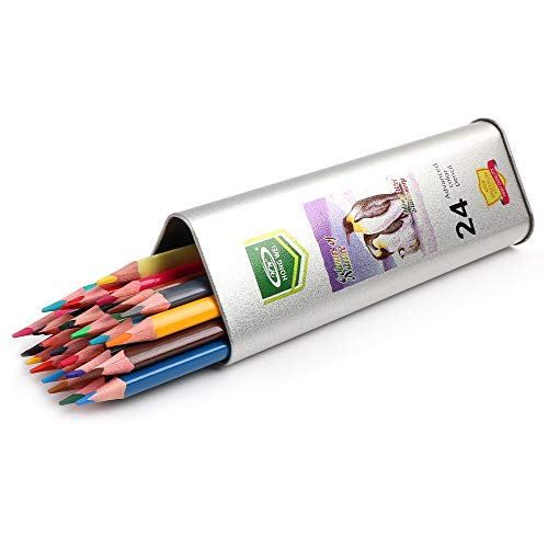 Art Colored Pencils Set & Drawing Coloring Pencil,for Beginners and Artists Adult & Kids Students School in Color Pencils.(24-Color)