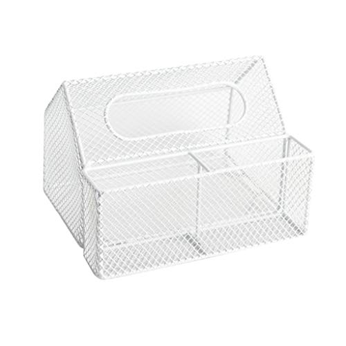 Moderne Tissue Box Cover - Schattige Huisvormige Vierkante Tissuebox Houder Voor Badkamer, Slaapkamer Of Kantoor, Decor Box Voor Tafel, Dressoir, Bureau