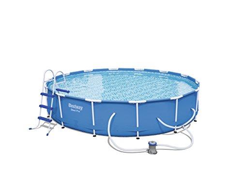 Bestway 56463 Steel Pro Frame Pool Set, 18' x 48'