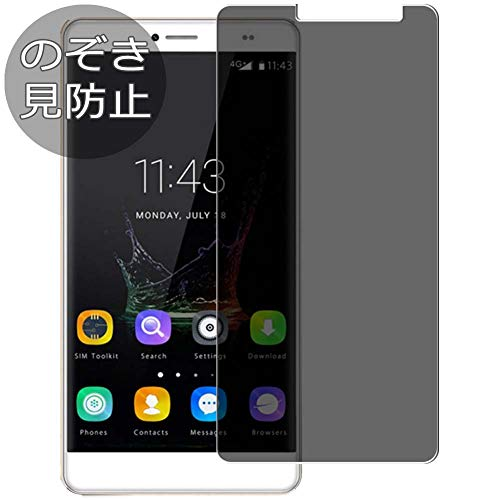 Synvy Privacy Screen Protector Film for BLUBOO Maya Max 0.14mm Anti Spy Protective Protectors [Not Tempered Glass] New Version