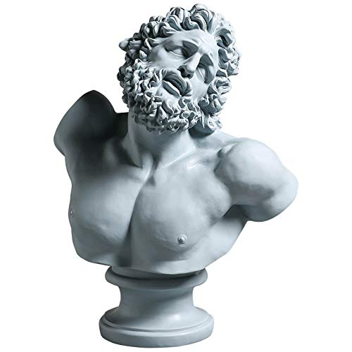 statuas Decorativas Jardin Salon casa Altas Pared Modernas Estatua,Decoraciones Busto Laocon Head Resina Decoración Resina Personaje Estatua