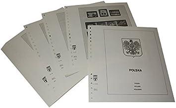Lindner-T Vordruckblätter T218/96 Polen - Jahrgang 1996 bis 2001